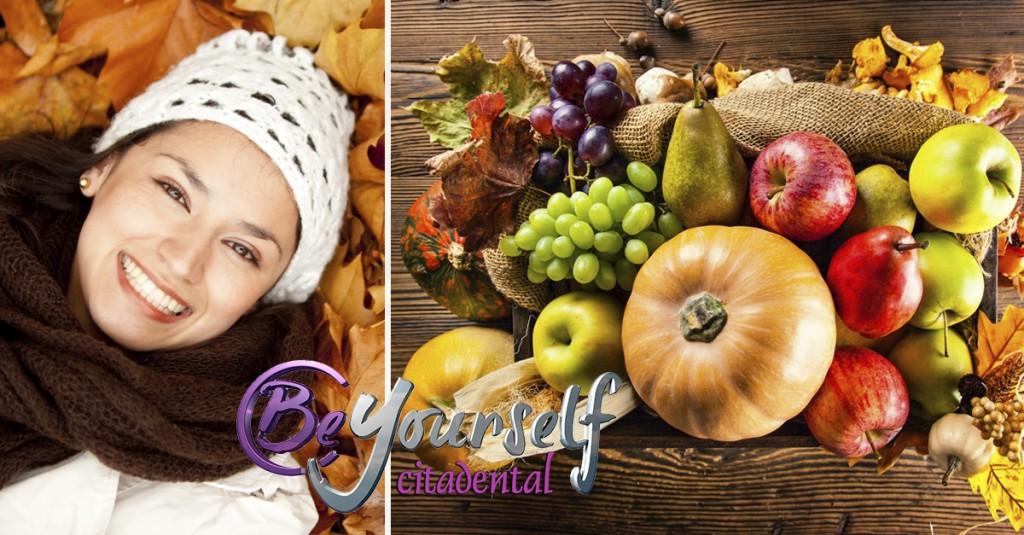 alimentacion otoño salud dental