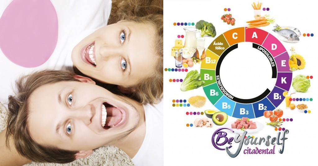 vitaminas salud dental